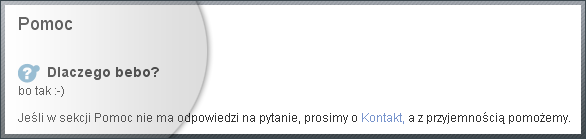 dlaczego bebo - bebo.gazeta.pl